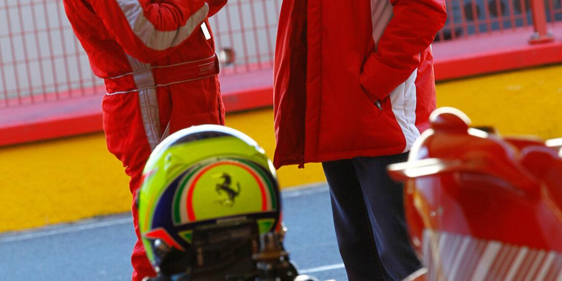 F1 Clienti, Ferrari, Gespräch