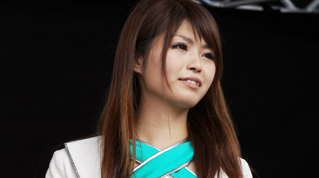 F1 Girl - Formel 1 - GP Japan - Suzuka - 6. Oktober 2012