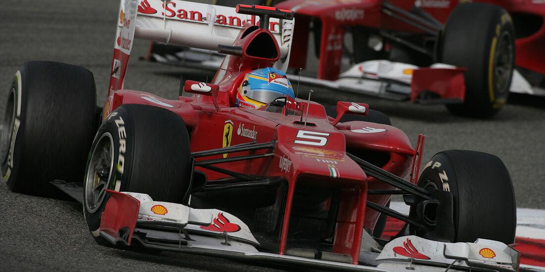 F1 Halbjahresbilanz Ferrari 2012