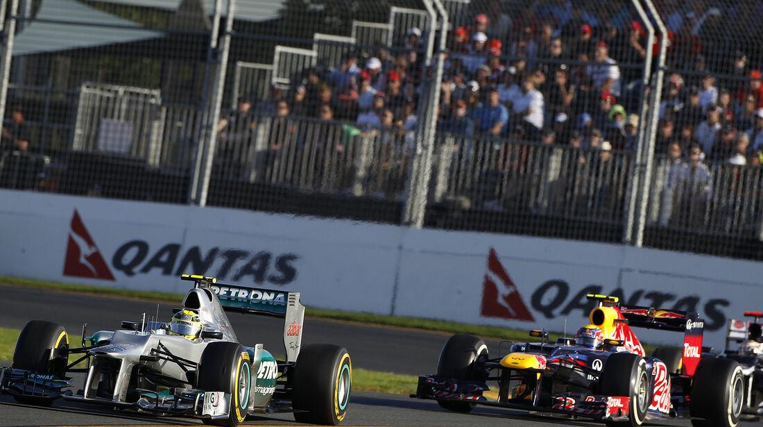 F1 Halbjahresbilanz Mercedes 2012