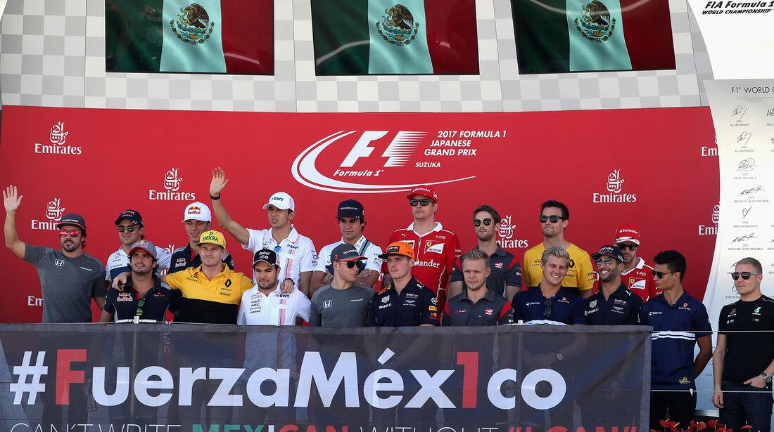 F1-Piloten - GP Italien 2017