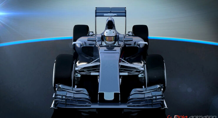F1-Technik - Piola Animation - Auto 2016 - Wategate