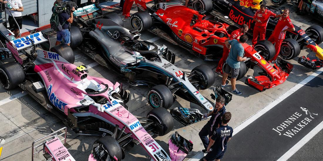 FIA Abnahme - GP Italien 2018