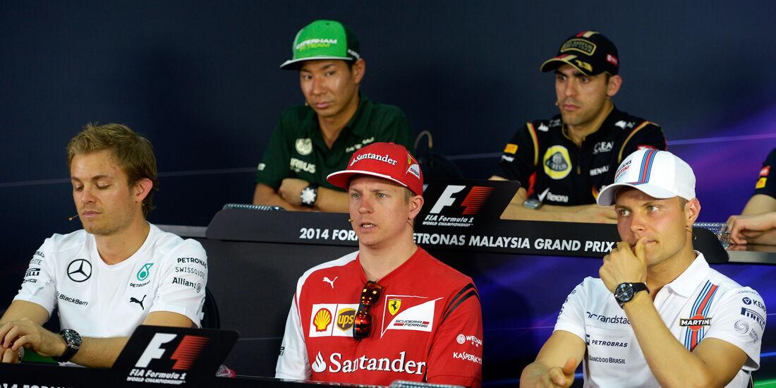 FIA-Pressekonferenz - Formel 1 - GP Malaysia - Sepang - 27. März 2014