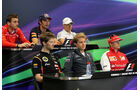 FIA Pressekonferenz - Formel 1 - GP Monaco - 21. Mai 2014