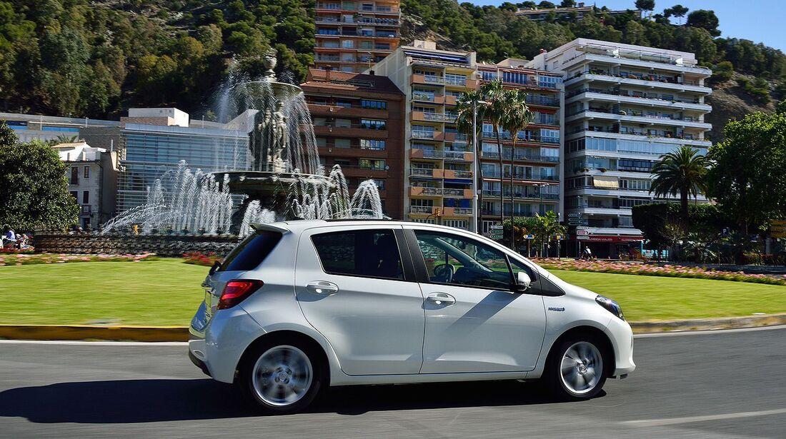 Fahrbericht Toyota Yaris Hybrid