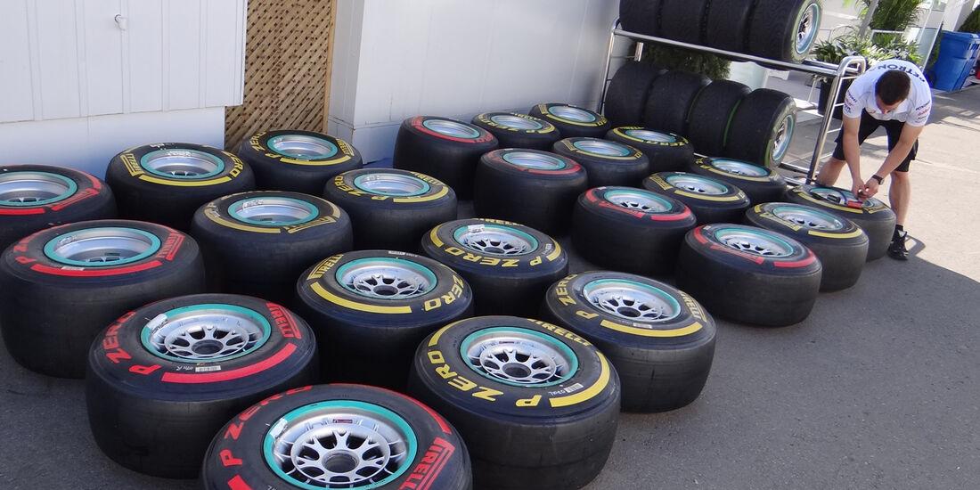 Fahrerlager - Formel 1 - GP Kanada - 7. Juni 2012