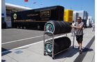 Fahrerlager - Formel 1 - GP Ungarn - 26. Juli 2013