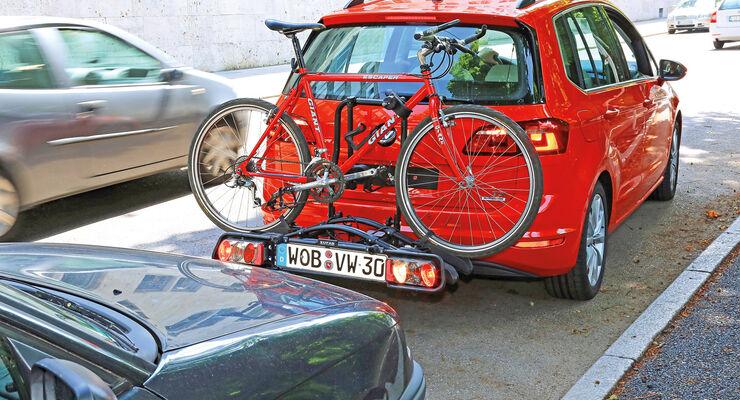 Fahrradträger, Einparkhilfe, Fahrzeug