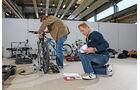 Fahrradträger, Räder, Kontrolle