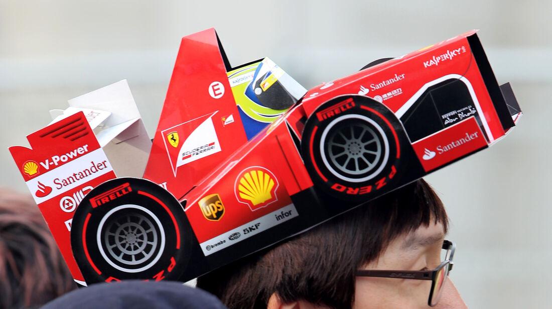 Fan - Formel 1 - GP Korea - 5. Oktober 2013
