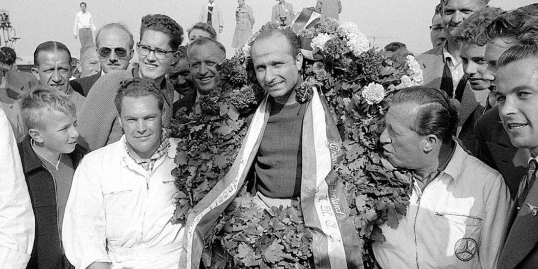 Fangio GP Holland 1955