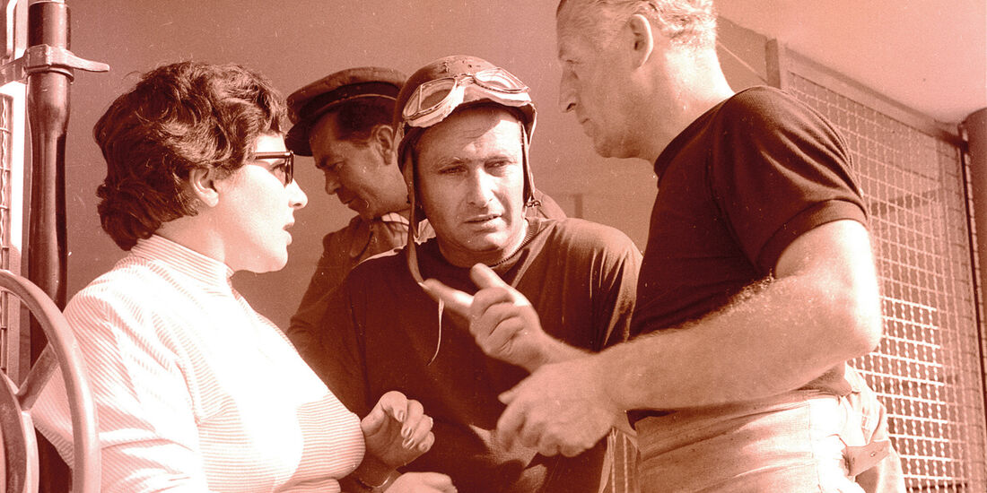 Fangio, Kling, Portrait