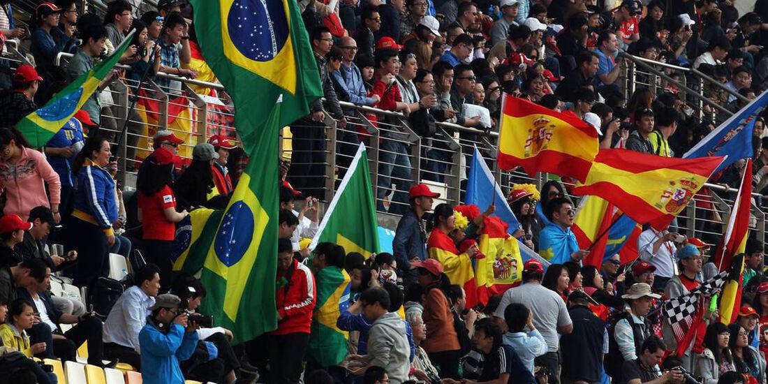 Fans - Formel 1 - GP China -12. April 2013