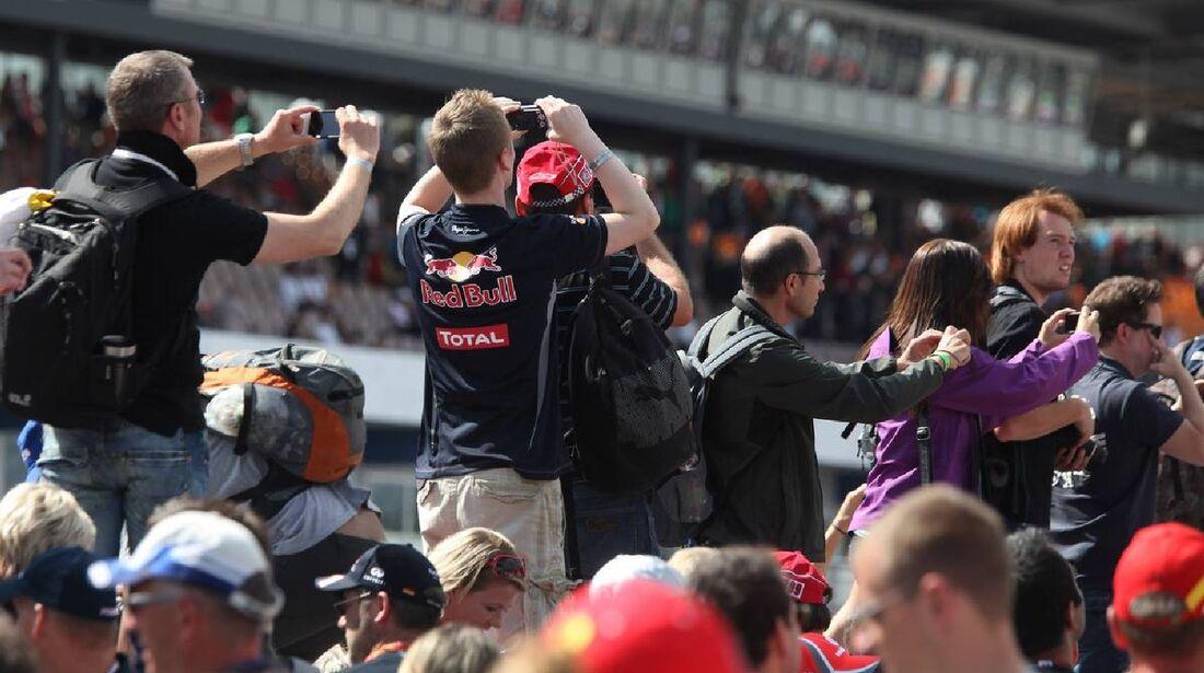 Fans - Formel 1 - GP Deutschland - 22. Juli 2012