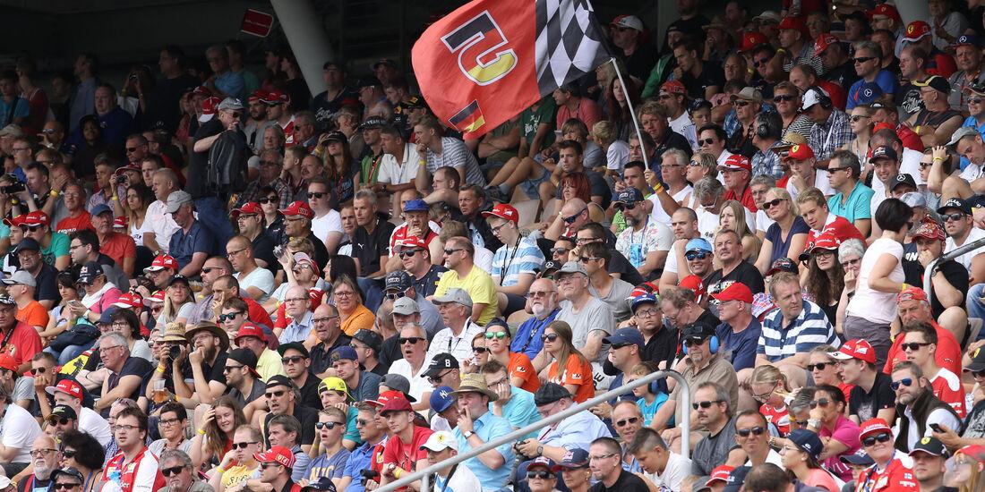 Fans  - Formel 1 - GP Deutschland - 30. Juli 2016