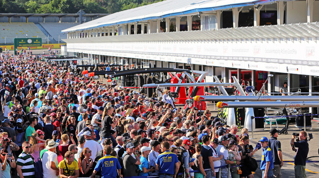 Fans - Formel 1 - GP Deutschland - Hockenheim - 17. Juli 2014
