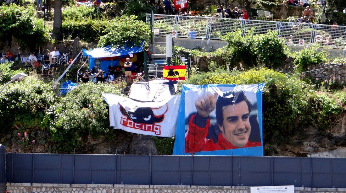 Fans - Formel 1 - GP Monaco - 23. Mai 2013