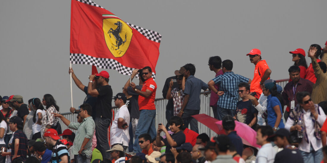 Fans - GP Indien - Delhi - 29.10.2011