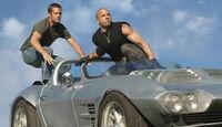 Fast & Furious Five, Paul Walker (links) und Vin Diesel