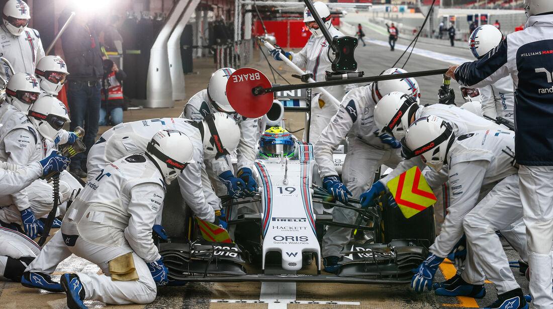 Felipe Massa - F1-Test Barcelona - 2015