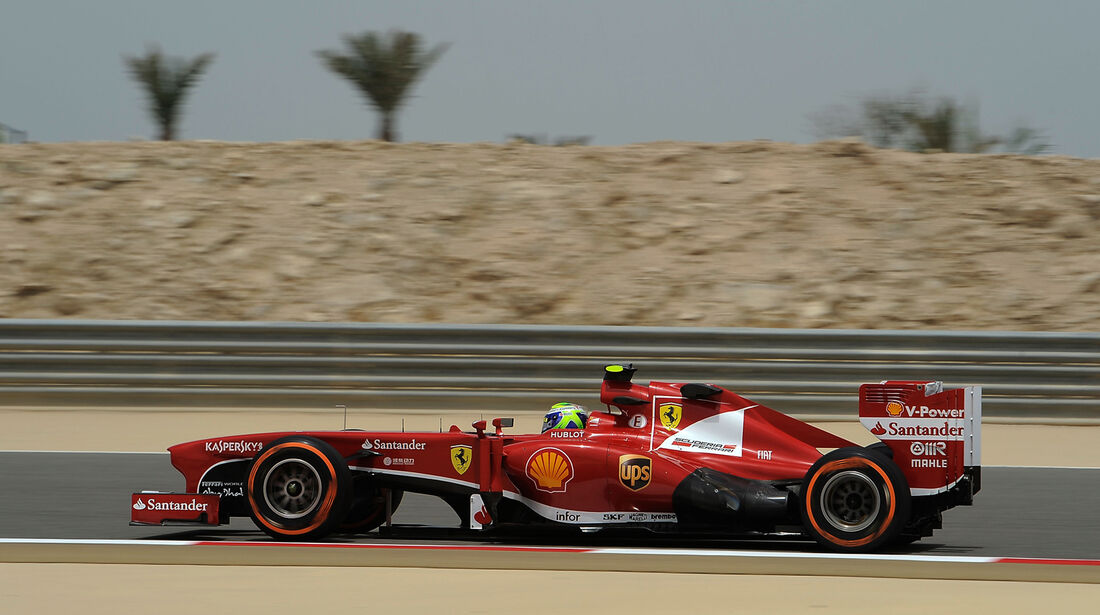 Felipe Massa - Ferrari - Formel 1 - GP Bahrain - 19. April 2013