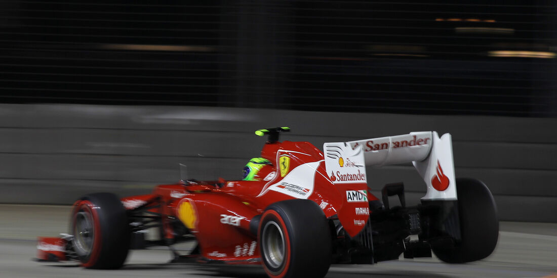 Felipe Massa - Ferrari - Formel 1 - GP Singapur - 22. September 2012