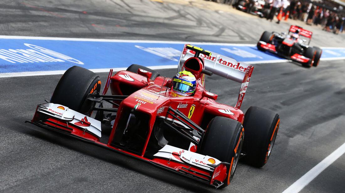 Felipe Massa - Ferrari - Formel 1 - GP Spanien - 11. Mai 2013