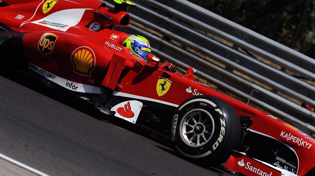 Felipe Massa - Ferrari - Formel 1 - GP Ungarn 2013