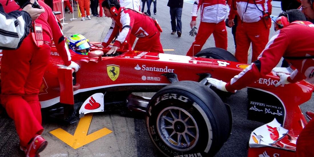 Felipe Massa - Ferrari - Formel 1 - Test - Barcelona - 2. März 2013
