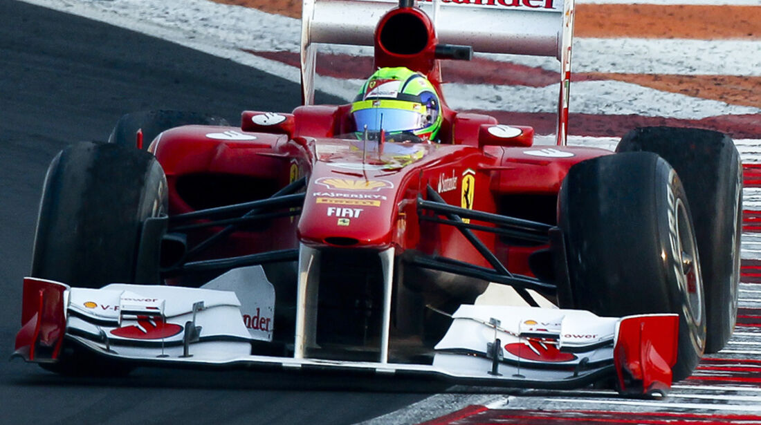 Felipe Massa  - Ferrari-Frontflügel