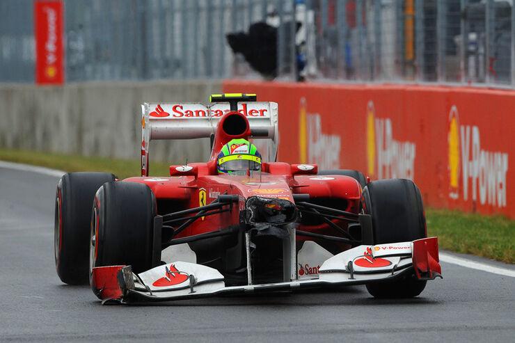 Felipe Massa Ferrari GP Kanada 2011