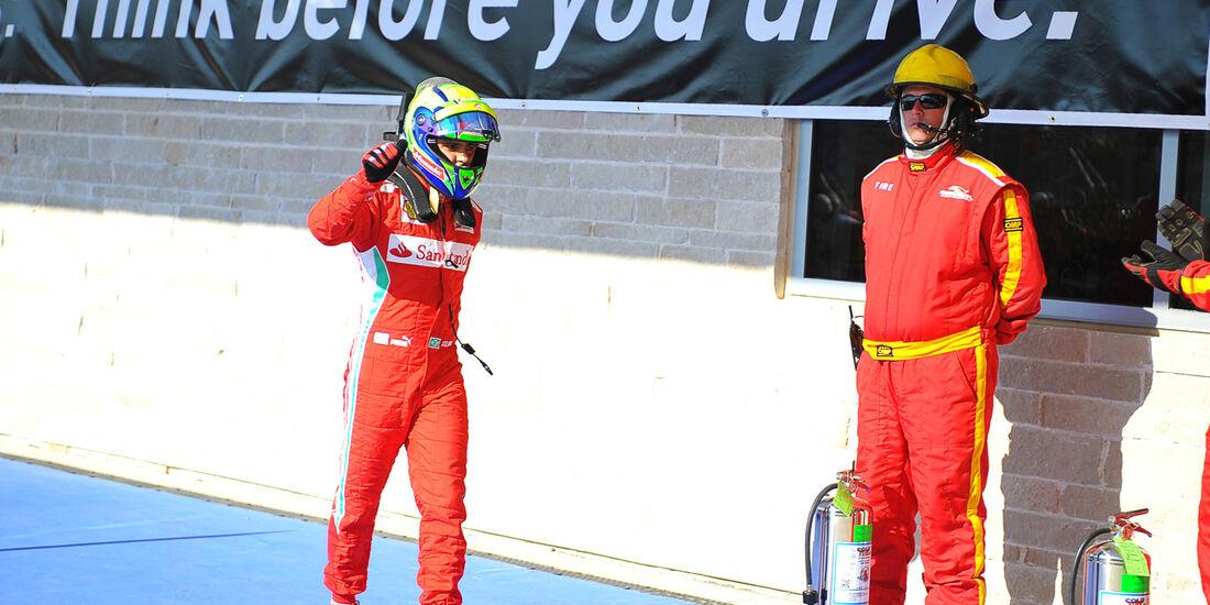 Felipe Massa Formel 1 Austin GP USA 2012