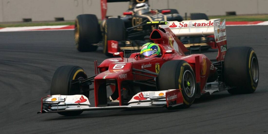 Felipe Massa  - Formel 1 - GP Indien - 28. Oktober 2012