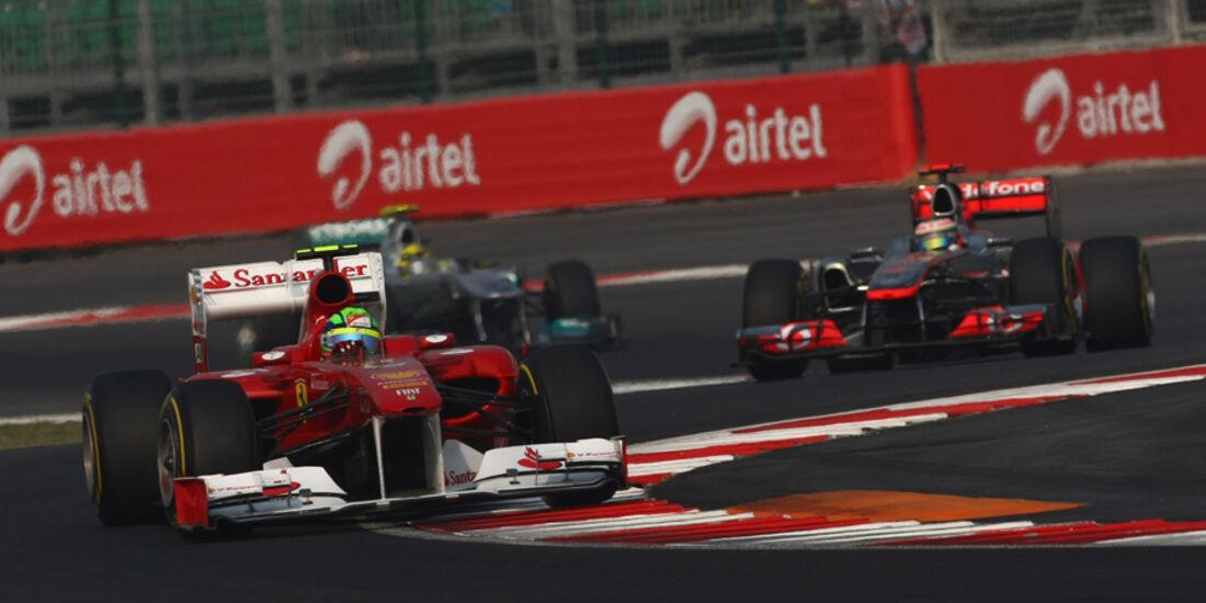 Felipe Massa GP Indien 2011