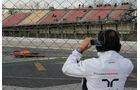 Felipe Massa - Williams - Barcelona - Formel 1-Test - 1. März 2016