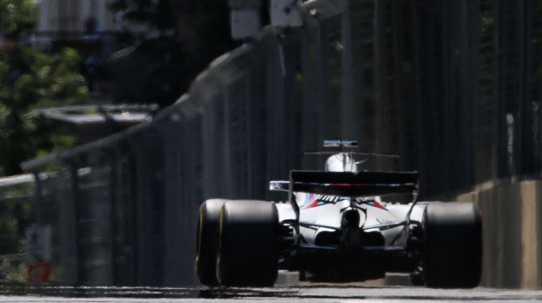 Felipe Massa - Williams - Formel 1 - GP Aseerbaidschan 2017 - Training - Freitag - 23.6.2017