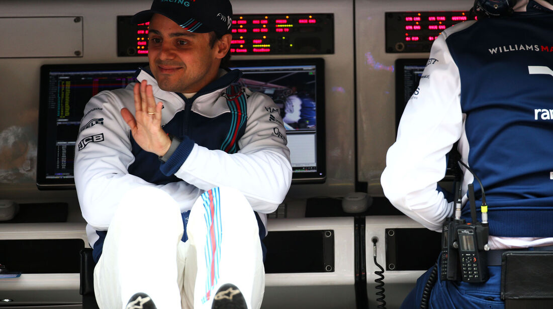 Felipe Massa - Williams - Formel 1 - GP China - Shanghai - Freitag - 7.4.2017