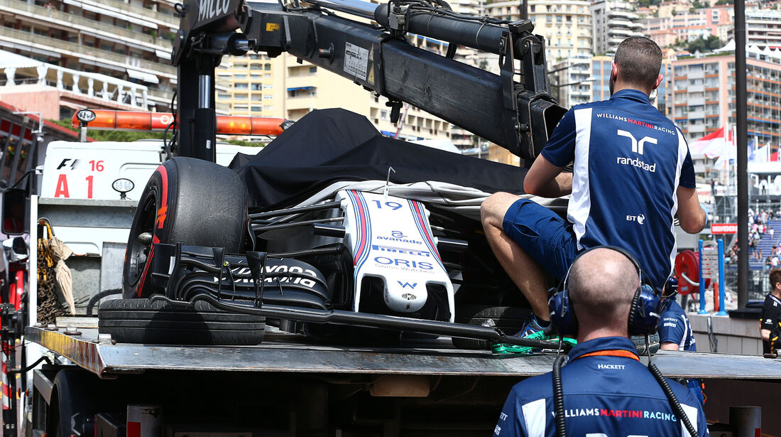 Felipe Massa - Williams - Formel 1 - GP Monaco - 26. Mai 2016