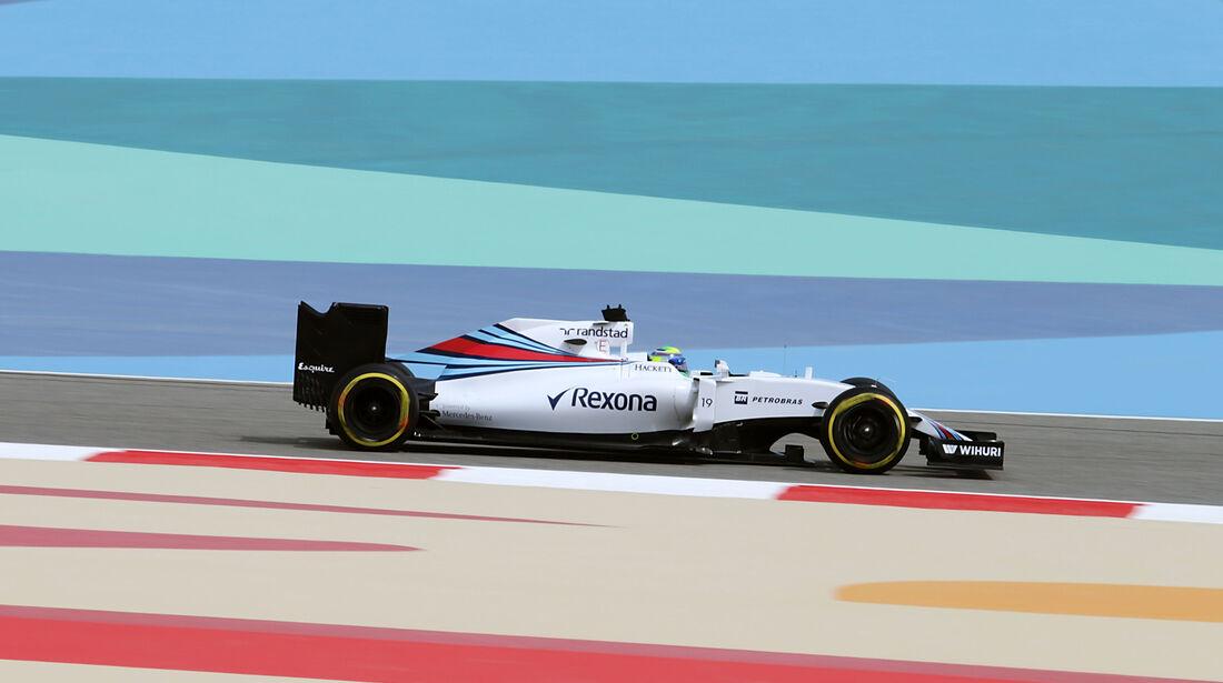 Felipe Massa - Williams - GP Bahrain - Formel 1 - 1. April 2016