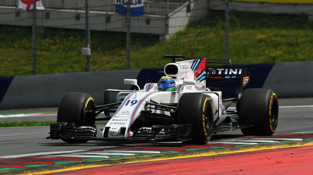 Felipe Massa - Williams - GP Österreich 2017 - Spielberg - Rennen