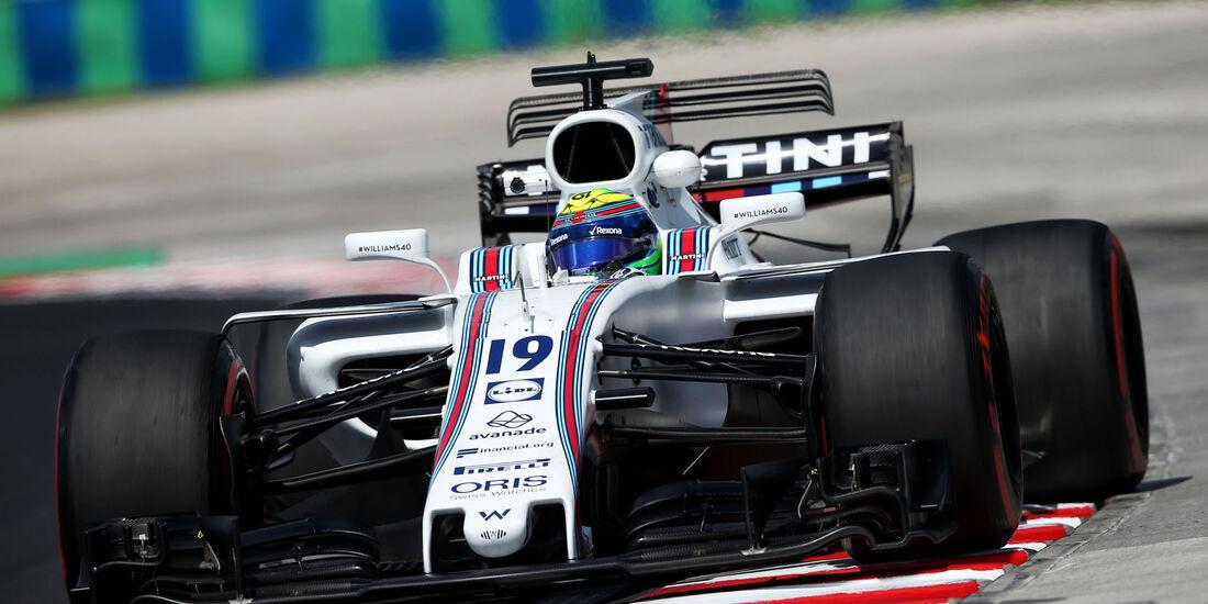 Felipe Massa - Williams - GP Ungarn - Budapest - Formel 1 - 28.7.2017