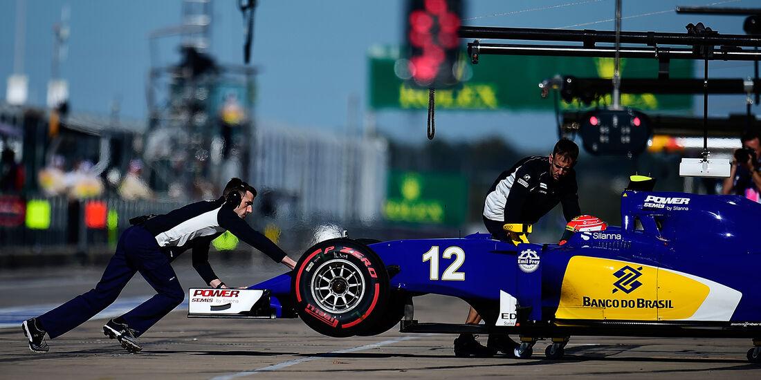 Felipe Nasr - Sauber - Formel 1 - Austin - GP USA - 22. Oktober 2016
