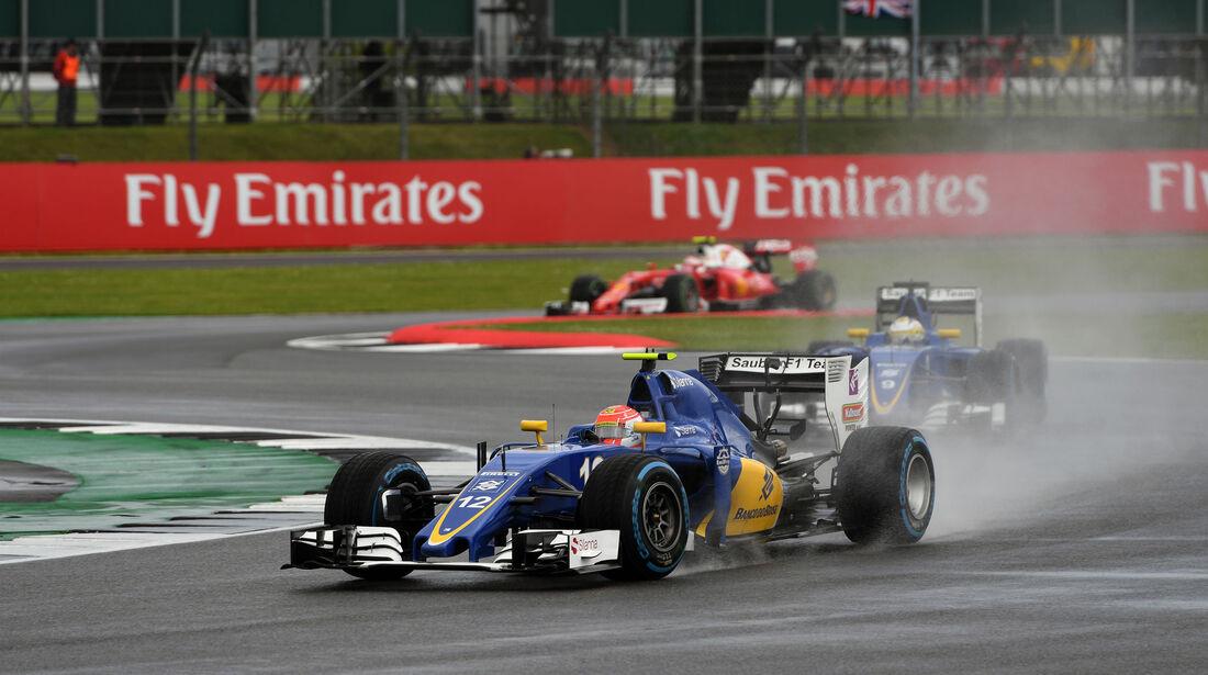 Felipe Nasr - Sauber - GP England 2016 - Silverstone - Rennen