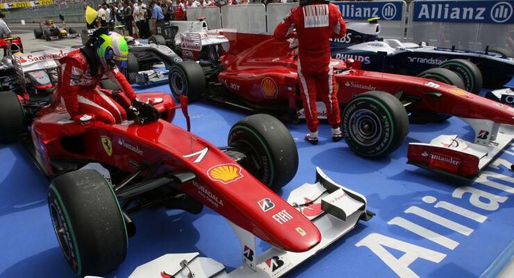 Fernando Alonso & Felipe Massa