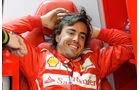 Fernando Alonso - Ferrari - Bahrain - Formel 1 Test - 2014