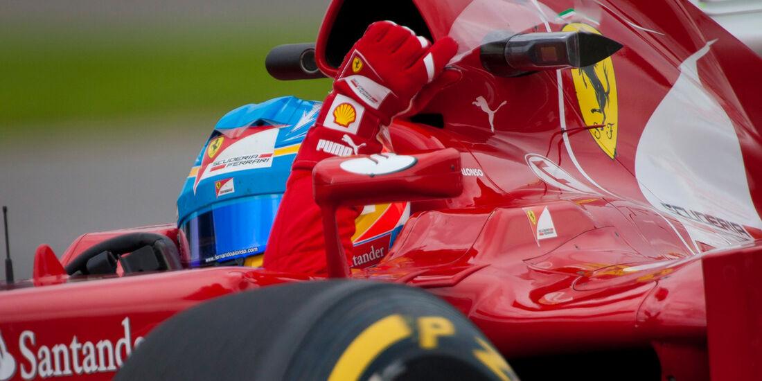 Fernando Alonso - Ferrari - Formel 1 - GP Kanada 2012 - 8. Juni 2012