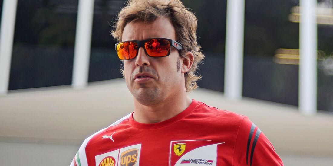 Fernando Alonso - Ferrari - Formel 1 - GP Malaysia - Sepang - 27. März 2014