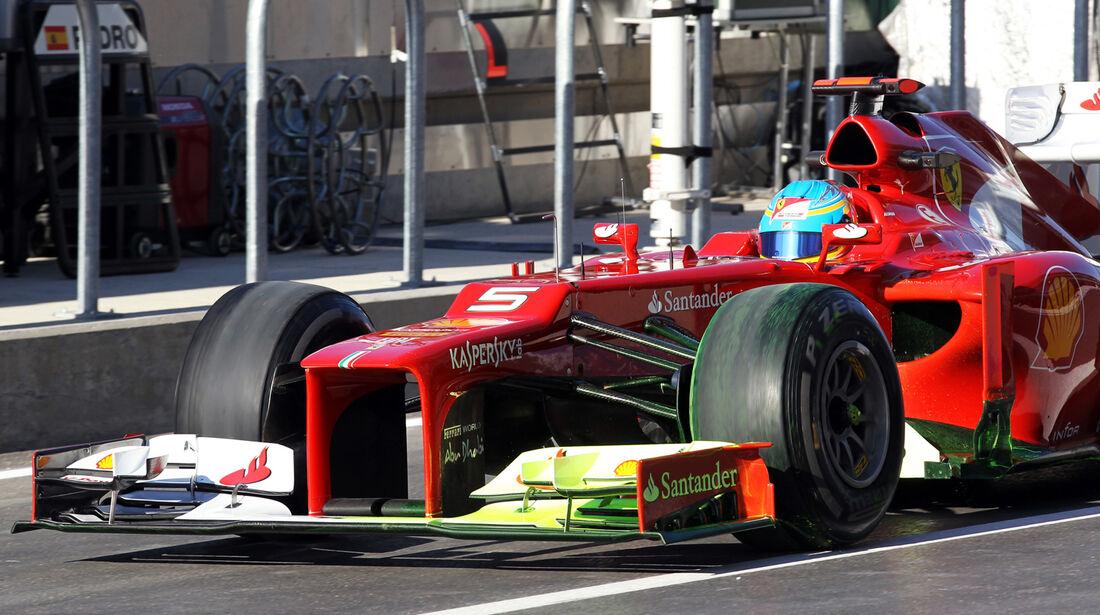 Fernando Alonso - Ferrari - Formel 1 - GP USA - Austin - 16. November 2012
