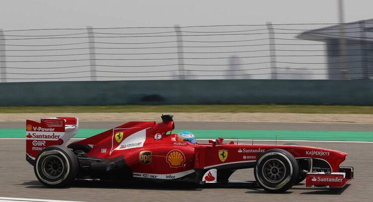 Fernando Alonso - Formel 1 - GP China - 13. April 2013